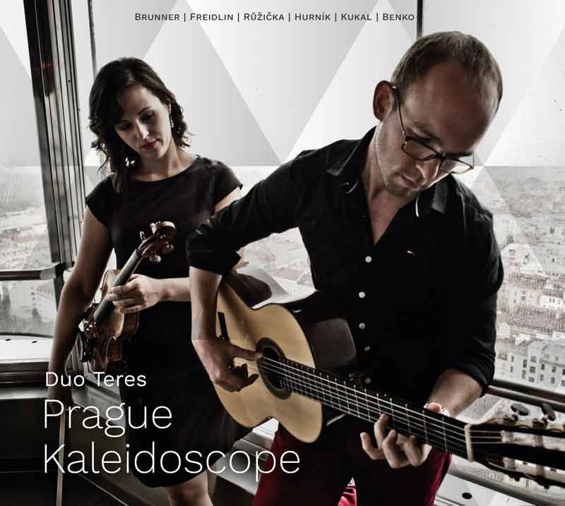 Album cover — Duo Teres — Prague Kaleidoscope