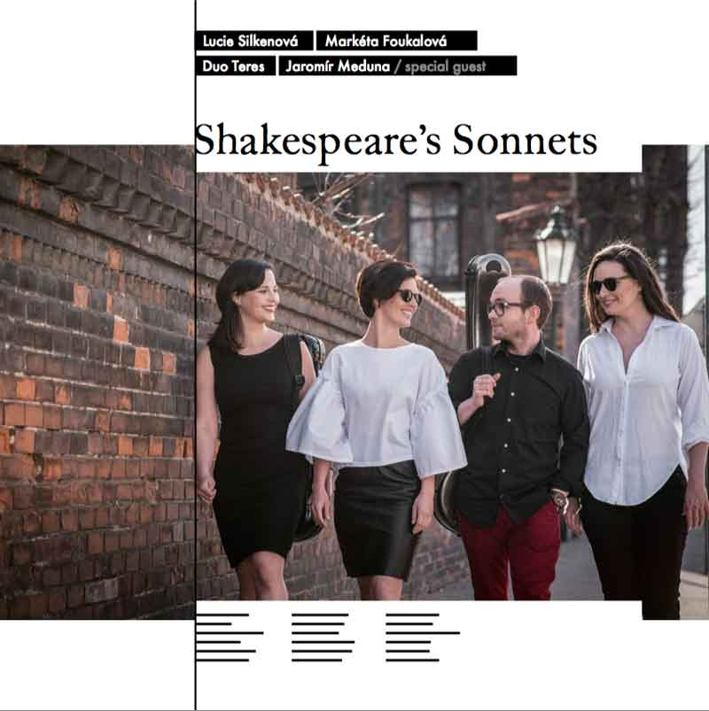 Album cover — Duo Teres — Shakespeare's Sonnets