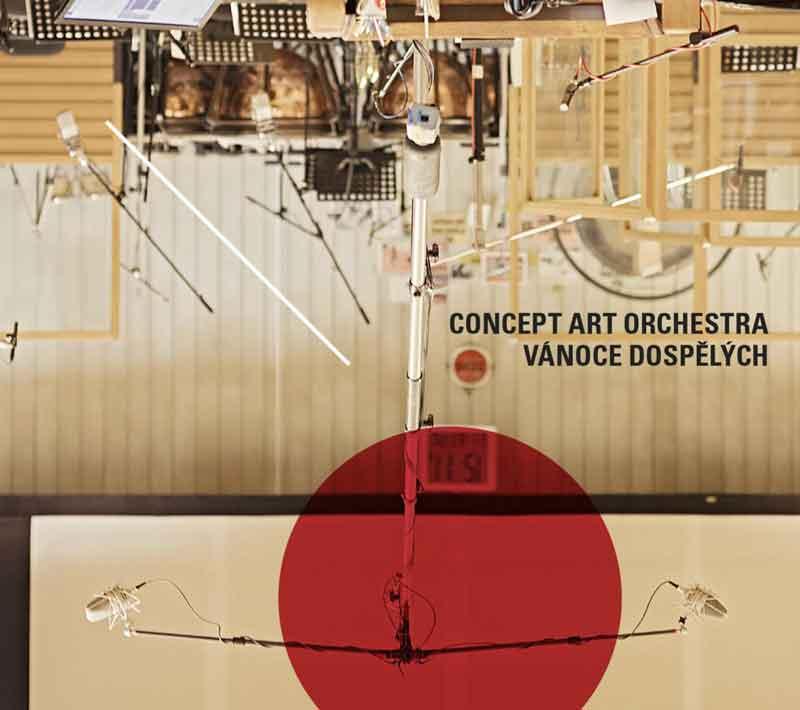 Album cover — Concept Art Orchestra — Vánoce dospělých