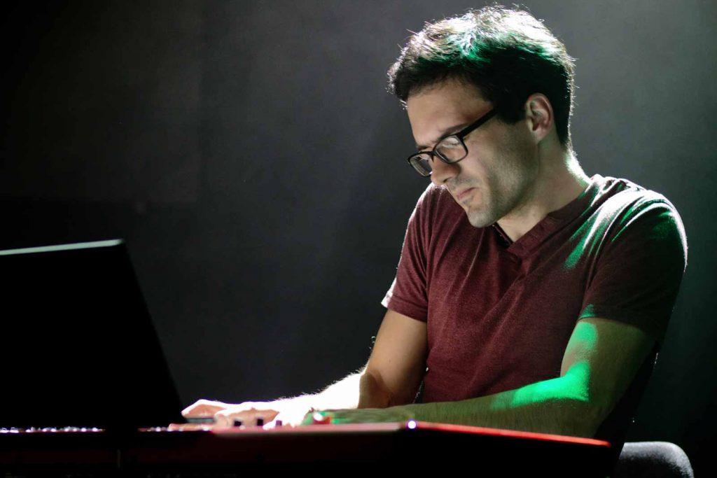 Pianista a skladatel Martin Brunner