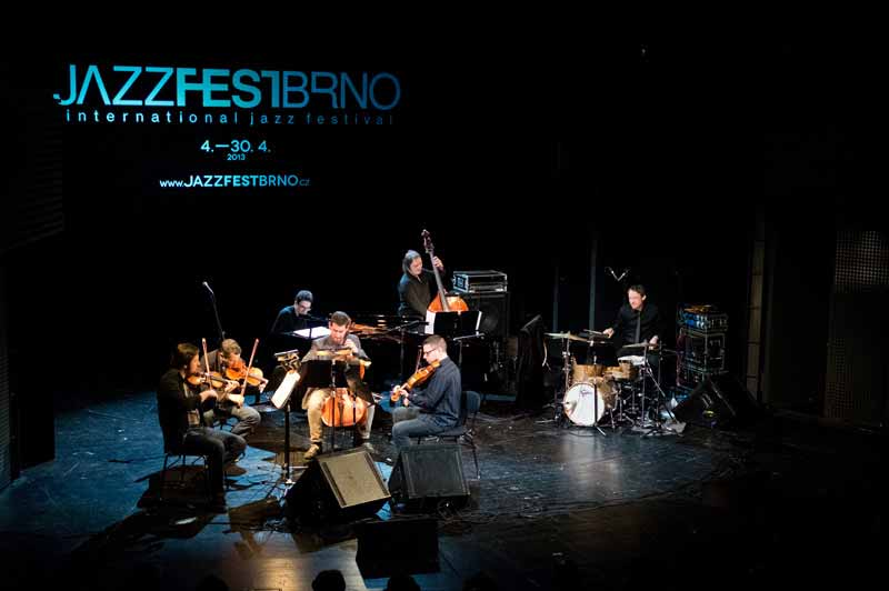 Martin Brunner & Epoque Quartet performing at JazzFest Brno
