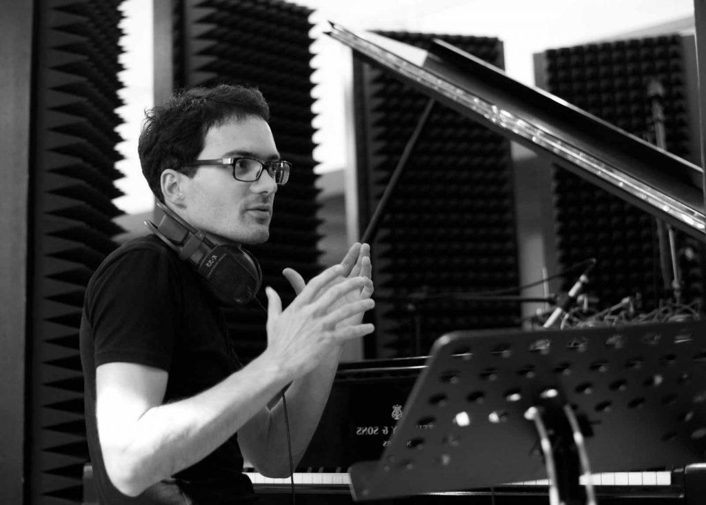 Pianista a skladatel Martin Brunner, foto Jiří Thýn